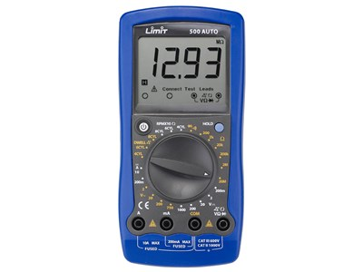 Multimeter digitalt Limit 500 auto