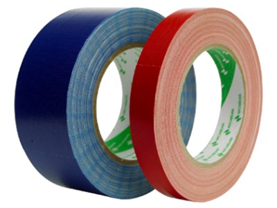 Tape 50mm Lærred 50M Sort 3M