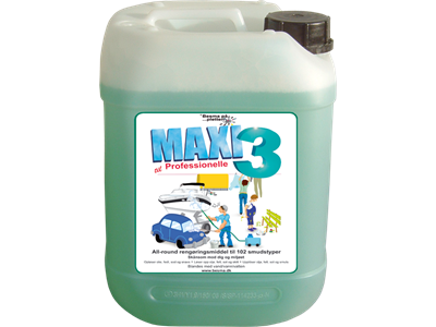 Maxi 3 All-Round Rengøring 20 ltr.