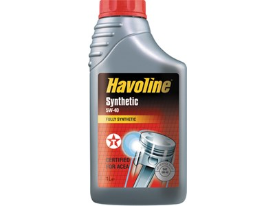 Olie Havoline Synthetic SAE 5W/40  1ltr