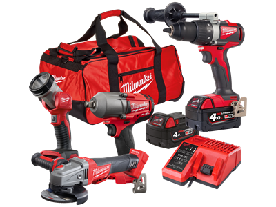 Milwaukee M18 Powerpack 4.0 kamp.