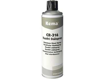 Kema CR-316 Rustfri stålspray 500 ml