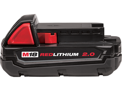 Batteri 18V M18B2 2.0Ah Milwaukee
