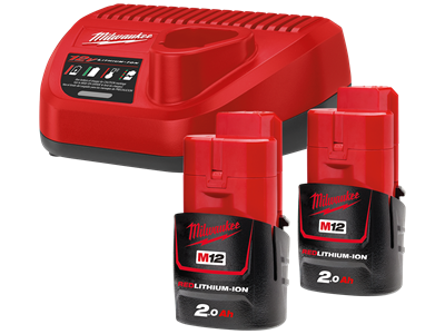 Batteripakke M12 NRG-2 2.0Ah Milwaukee